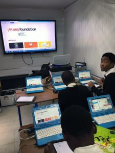 BluPoint in school classroom in Durban