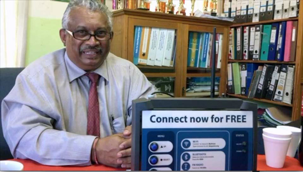 Durban school principal excited about BluPoint technology