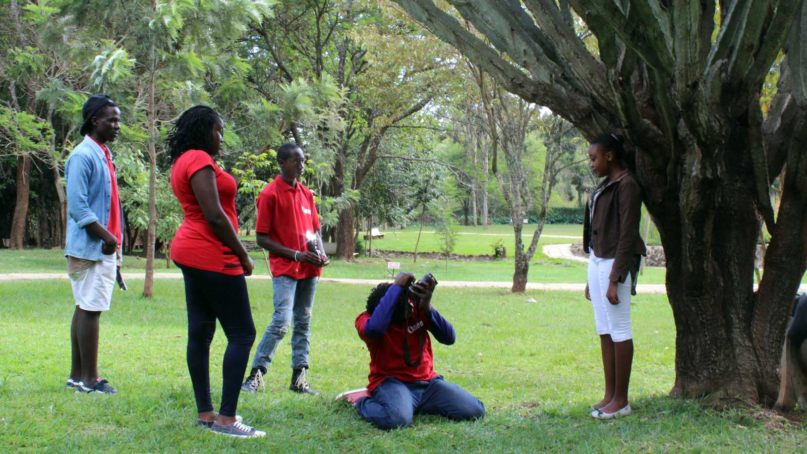 Canon utilise our technology to establish careers in Africa