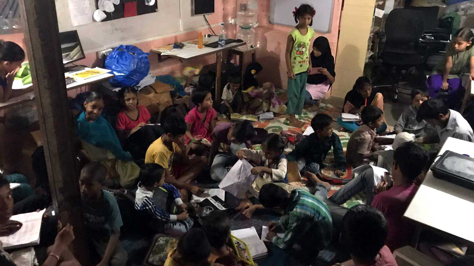 BluPoint hubs for gender equality in Mumbai slum